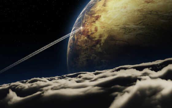 космос, планета Фон № 24320 разрешение 2560x1465