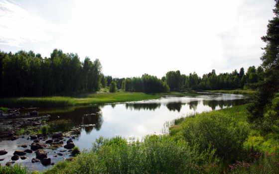 реки, природа, финляндия, красивых, сатакунта, lumut, отлично, malaysia, коллекция,