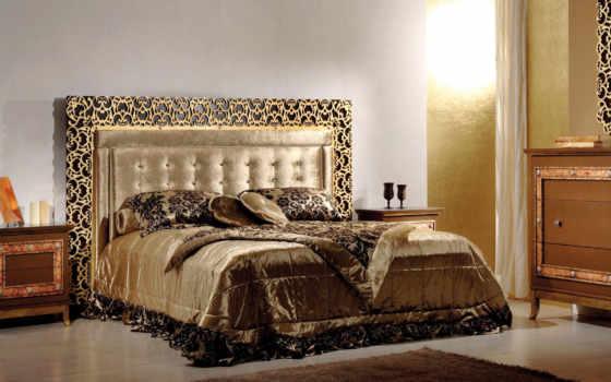 комната, мебель, спальная