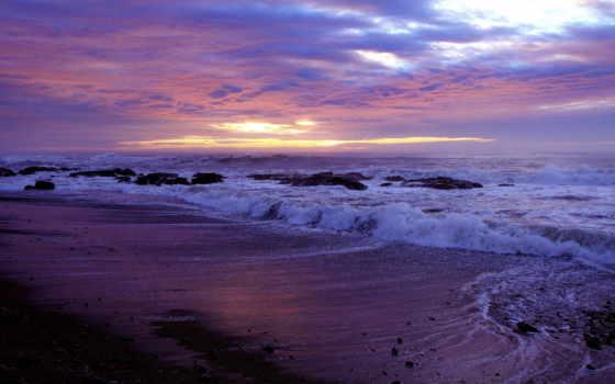 spiaggia, красивые, onde, priroda, количество, неповторимой, нежной, яркие, природой, sfondi,
