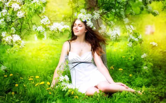 женщина, изображение, автор, portrait, красивой, women, весны, скачивайте, стоковое, гейш,