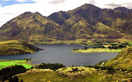 новой, зеландии, wanaka