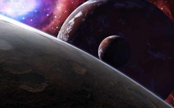 cosmos, планеты, луна, звезды, нравится, гладь, спутник, art, darink, have,