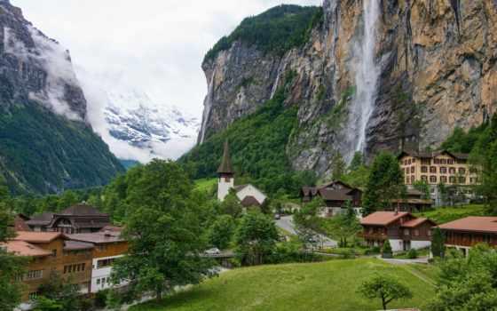 швейцария, города, lauterbrunnen
