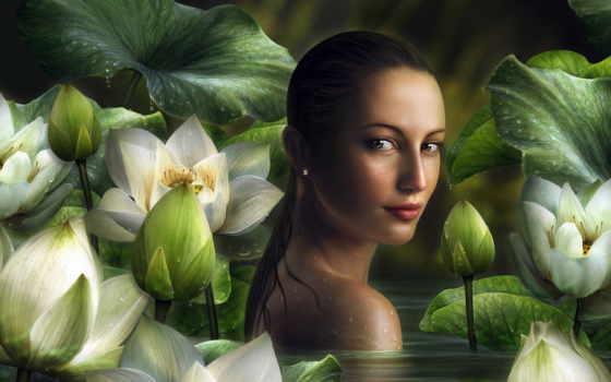 красивые, природа, широкоформатные, девушка, fantasy, красивых, women, впервые,
