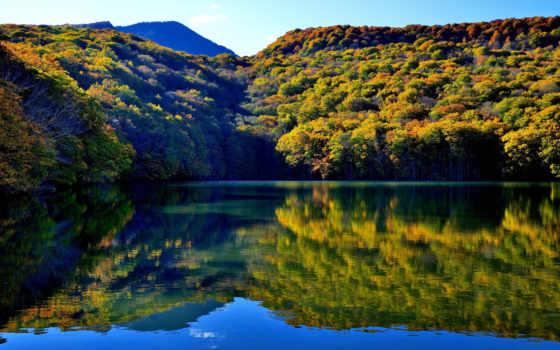 япония, красивый, природа