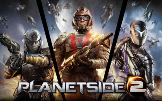planetside, game, online