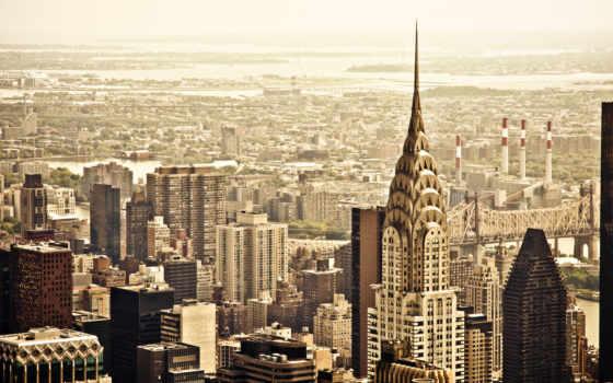 new, york, город Фон № 131126 разрешение 1920x1200