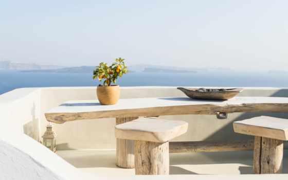 , уличная мебель, outdoor table, интерьер, архитектура, досуг, Санторин, elounda blu, elounda, Ретимно, путешествовать, отпуск, all-inclusive resort, отель, вилла