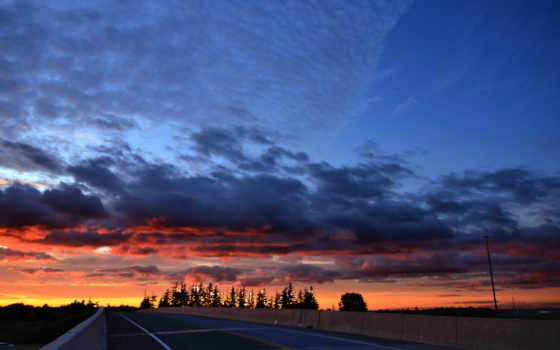 heaven, небо, дорога, закат, путь, free, landscape, разное, магазин,