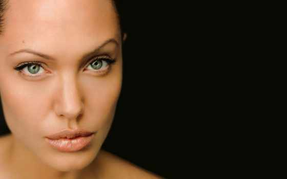 angelina, jolie, глаза, dark, categoria, фон, closeup, black,