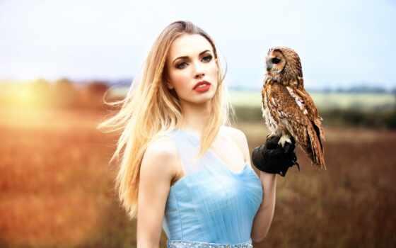 сова, arm, девушка, dream, sit, птица, dreamer, коллекция, клеточка