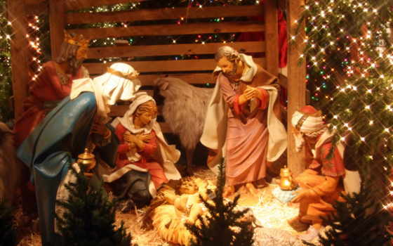 рождеством, поздравления, янв