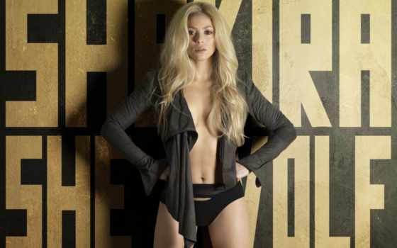 shakira, she, волк, девушка, singer, blonde, музыка, альбома, шакиры,