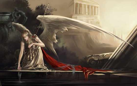 angel, рука, крылья