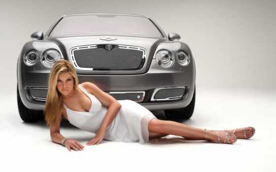 девушка, devushki, автомобили, bentley, красивая, models, continental, yellow,