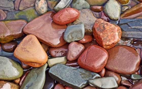морские, камешки, камни, бани,