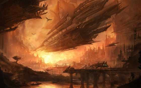 spaceship, sci