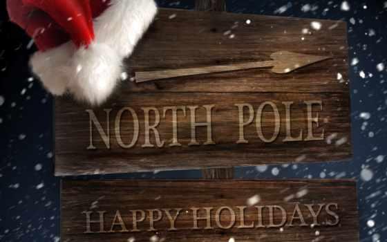 указатель, pole, north, holiday, новый, год, стрелка, duvar, holidays, happy, праздники, kağıtları, download, click, desktop,