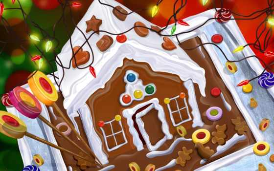 house, gingerbread