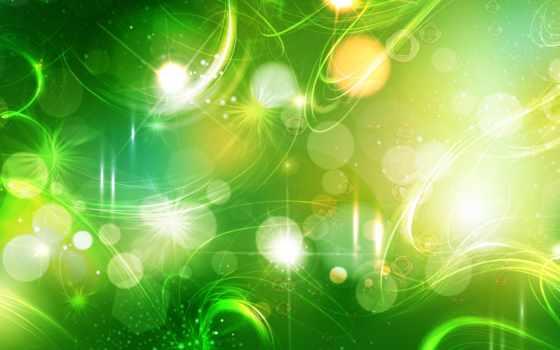 abstrakciya, зелёная, изображения