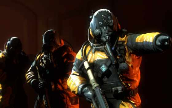 hazmat, advanced, warfare, колл, duty, deviantart, lonefirewarrior, масть, pixels,
