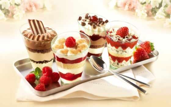 мороженое, десерт