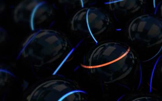 шары, сферы, neon