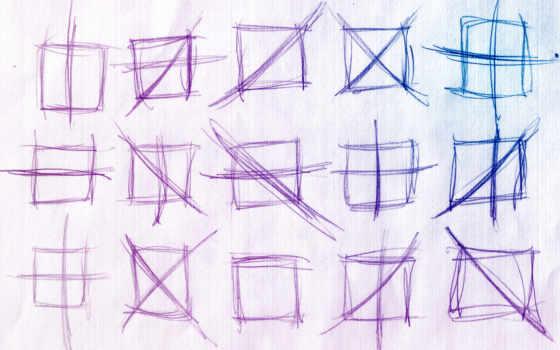 свет, квадраты, пересечения, сине, градация, фиолетовая,