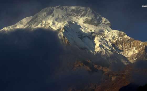 nepal, аннапурна, гора,