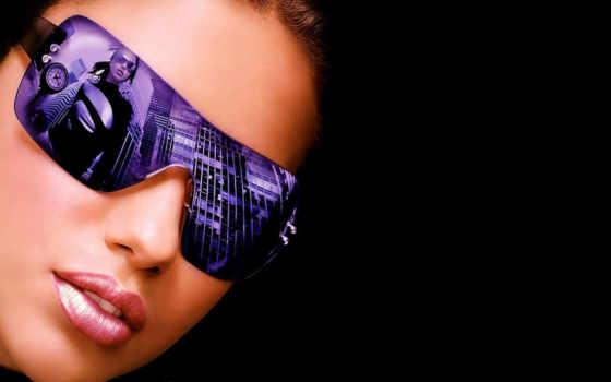 девушка, телефон, очки, свет, телефона, devushki, выбран, очках, art, includes,