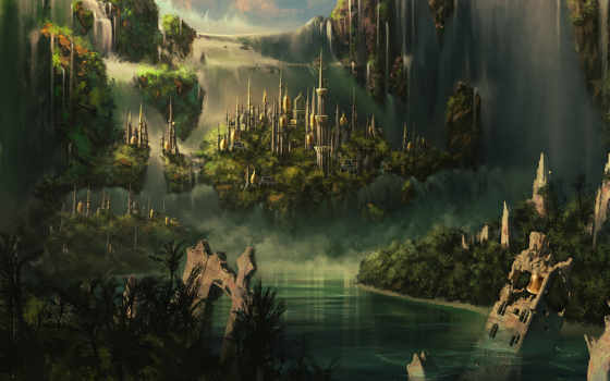fantasy, город, pinterest, города, самара, this, art, мбоу,