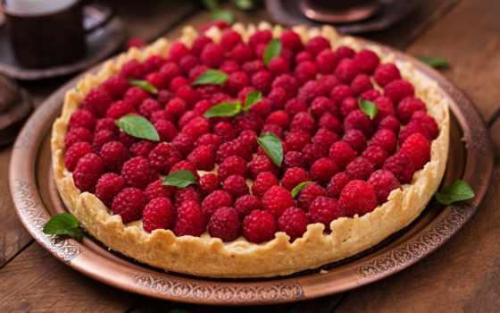 пирог, выпечка, photos, timolina, ягоды, клубника, взгляд, top,