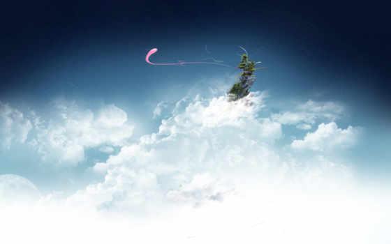 облака, небо Фон № 18666 разрешение 2560x1600