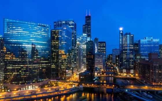 chicago, здания