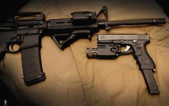 military, gun, gray