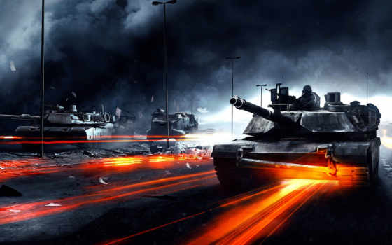 battlefield, hành, tàng, nın, chiến, танк, vn,