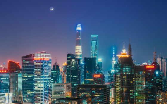 shanghai, башня, china, world, oriental, financial, pearl, центр,