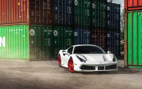 ferrari, gtb, cars, wheels, desktop, white, car,