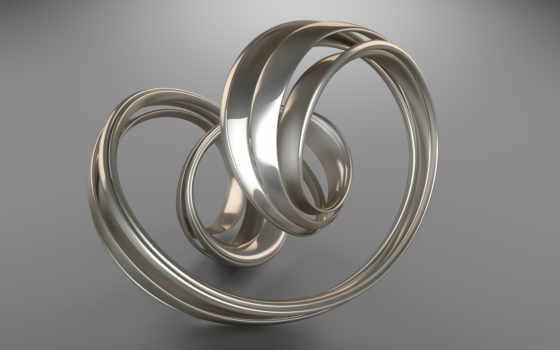 swirl, silver