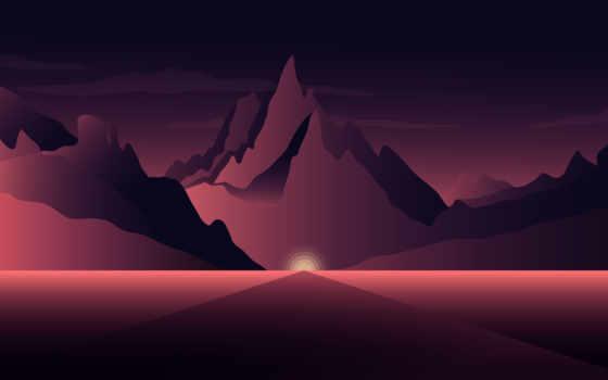 ,, небо, атмосфера, computer wallpaper, Геологическое явление, пейзаж, рассвет, темнота, гора, закат, восход солнца, 4k resolution, ultra-high-definition television, телевидение высокой четкости, минимализм, 8k resolution, разрешение дисплея, 1080p, 5k resolution, искусство