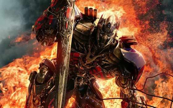 трансформера, prime, optimus, сниматься, transformers, era, istreblenie, рыцарь, последний