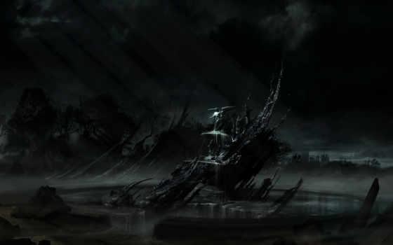 alone, dark Фон № 19894 разрешение 2560x1600