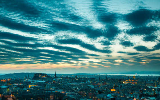 scotia, эдинбург, landscape, панорама, небо, панорамный, santor, krista,