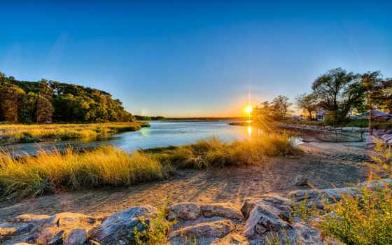 остров, long, stony, brook, new, york, harbor,