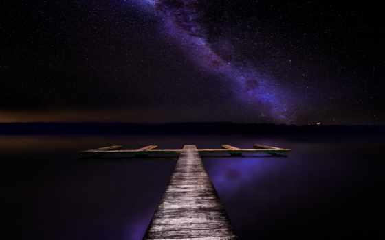 небо, pierce, stars, озеро, secrets, млечный,
