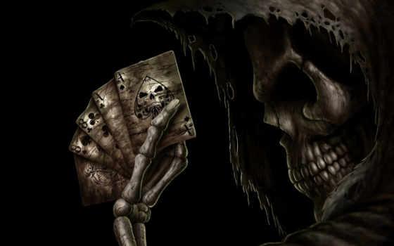 skelett, покер