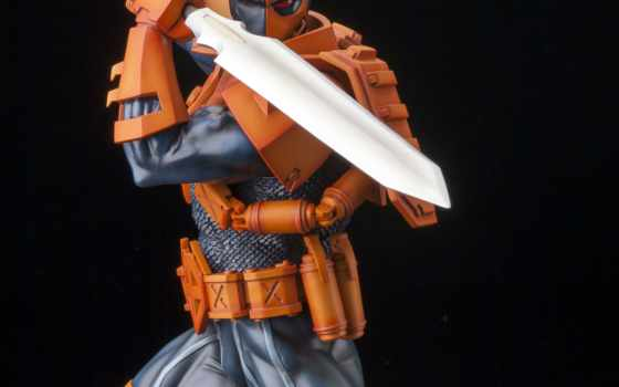 deathstroke, kotobukiya, artfx, статуя, comics, new, have,