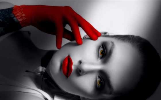красными, губами, чёрно, devushki, страница, гламурные, красивые, девушка, страницу, белая, зайдите,