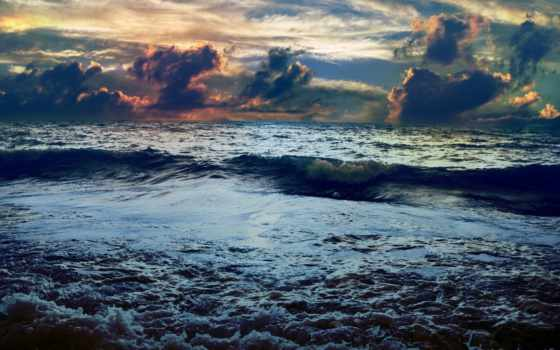море, волна, корабль, погода, плохой, that, назад, моря, камни,